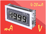 4-20mA Loop Powered Panel Meter